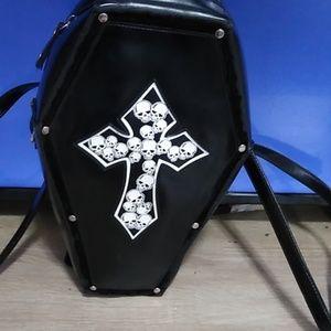 Coffin backpack/sling FLASH DEAL☺️🎃🎃